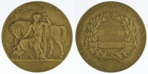 New York Women's League for Animals gold medal