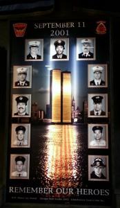 Ladder 5 Battalion 2 memorial