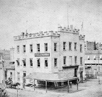 New York and Harlem Railroad depot