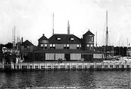 Atlantic Yacht Club, Bay Ridge, Brooklyn