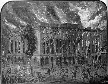 Academy of Music fire 1866