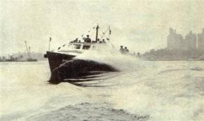 NYPD Harbor Police Boat 1940s