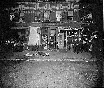 Crime on Mulberry Street