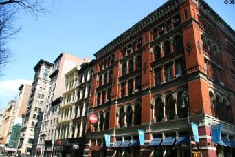 The former Brooks Brothers, Broadway