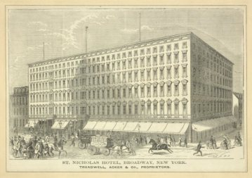 The St. Nicholas Hotel, Broadway