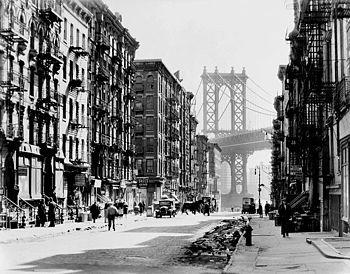Madison and Pike street New York