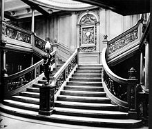 Grand Staircase, RMS Olympic