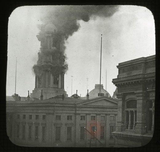 Brooklyn City Hall culola fire