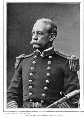 Captain Charles D. Sigsbee, USS Maine