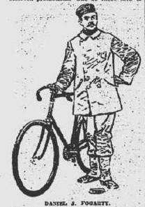 Bicycle Policeman Daniel J. Fogarty