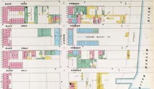 Harlem Map, First Avenue