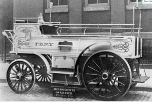 Rech-Marbaker Hose Wagon, FDNY, 1907
