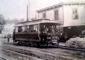 West Farms trolley car