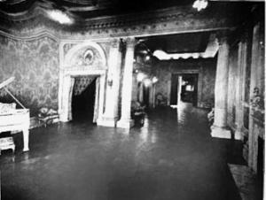 Coterie Club ballroom