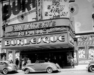 Billy Minsky's burlesque