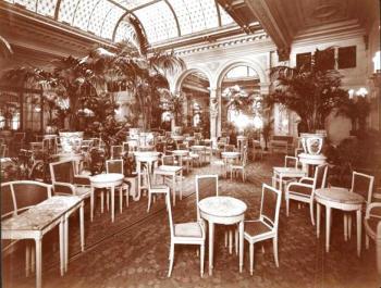 Tea Room at Plaza Hotel