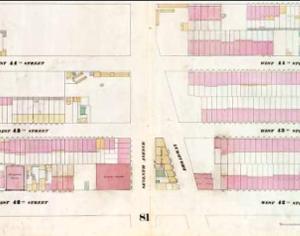 Longacre Square map