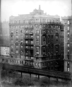 80th Street and Columbus Avenue. Orleans Apartment Hotel.