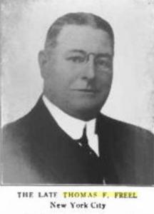 Thomas F. Freel, superintendent of the SPCA