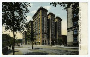 Hotel Majestic and Central Park West, New York