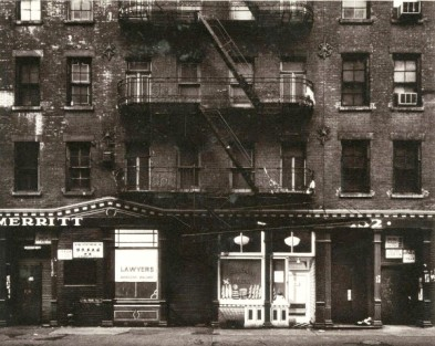 Like many tenements of the Lower East Side, Nos. 163 and 165 East 4th Street were five-story brick buildings with a commercial business and two rear apartments on the ground floor and four three-room flats on each of the upper floors.
