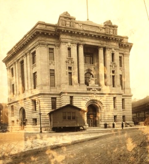 Bronx Borough Courthouse 1914