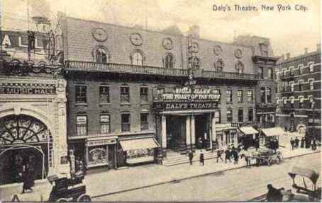 Daly Theatre, New York