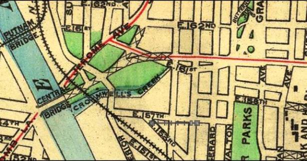 Morrisania Map 1900