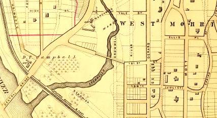 Morrisania map 1879