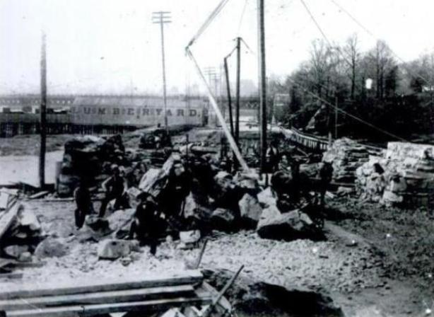 Lumberyard, pre Yankee Stadium, 1921