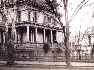 Original Harlem Hospital in 1887