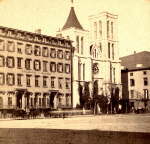 Church of the Puritans, Union Square