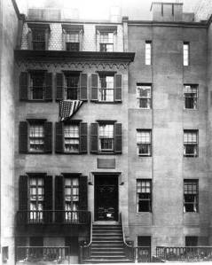 Theodore Roosevelt house, 28 E. 20th Street, New York