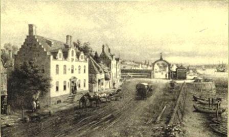 Pearl Street, 1600s New York