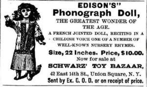 Edison Talking Doll