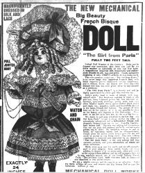 The Girl From Paris Talking Doll
