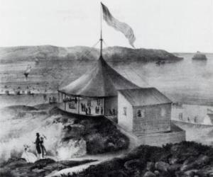 Coney Island Pavilion, 1845