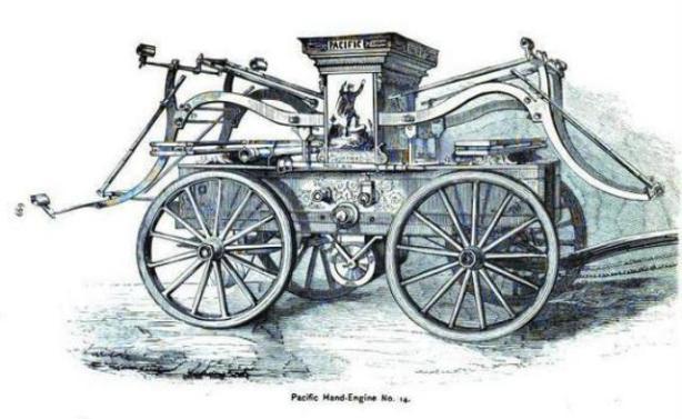 Pacific Hose Company No. 14 Hand Engine