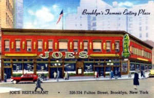 Joe's Restaurant Fulton Avenue Brooklyn