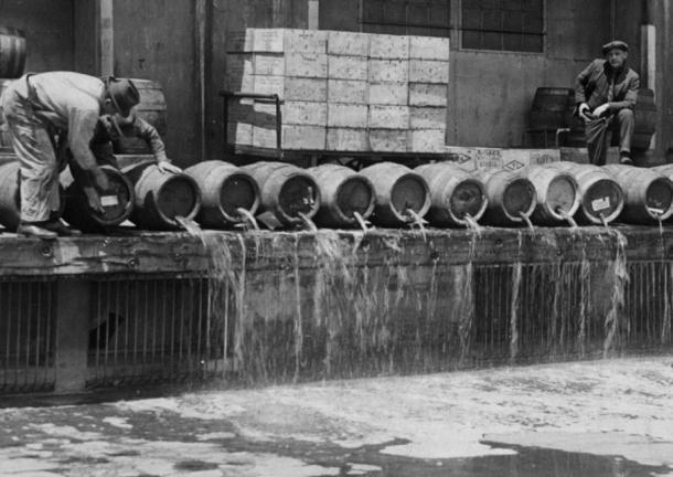 Prohibition New York 1920