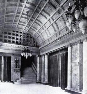 Fifth Avenue Theatre foyer