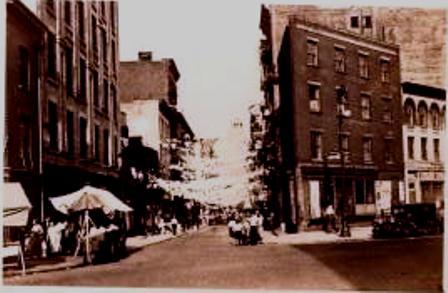 Oak Street and Roosevelt Street