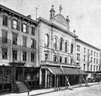 Peter Gilsey house and Apollo Hall