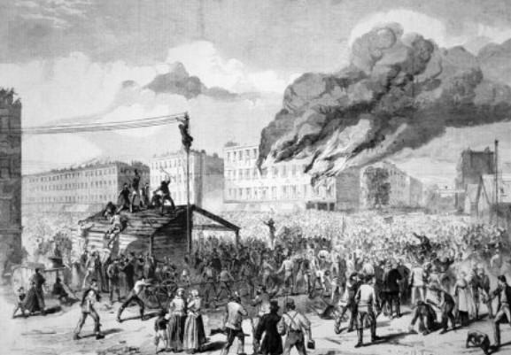 1863 Draft Riots New York