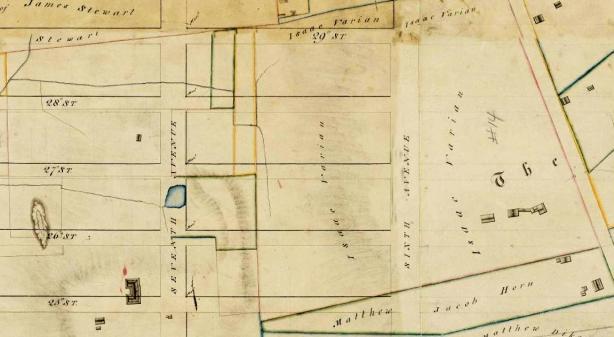 Randel Farm Map 1818