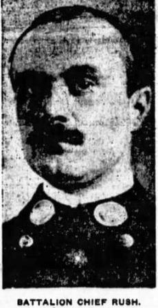 Battalion Chief John Rush