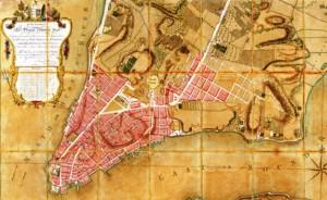 Ratzer 1766 map