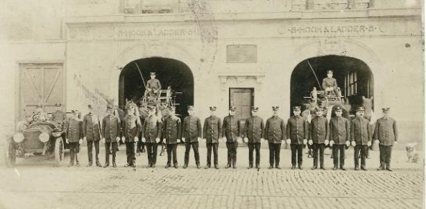 Chief John Rush funeral procession