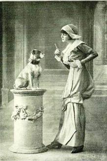 Irene Castle and Zowie