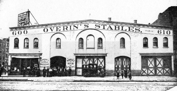 Overin's Stables, New York City